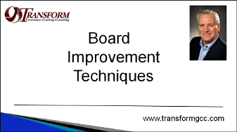 Board Improvement, Governance, best practices