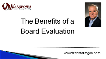 board evaluation, board assessment, benefits