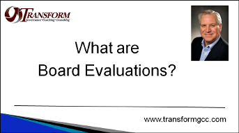 board evaluation, board assessment